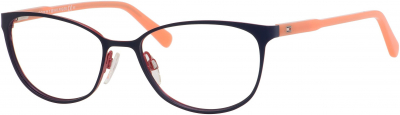 TOMMY HILFIGER TH 1319 style-color Semi Matte Navy Peach 0VKZ