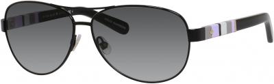 KATE SPADE DALIA/S US style-color Shiny Black 0W92 / Gray Gradient Y7 Lens