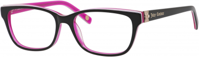 JUICY COUTURE JU 154 style-color Black Floral / Pink 0FL8