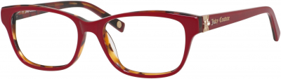 JUICY COUTURE JU 154 style-color Red Havana 01L9