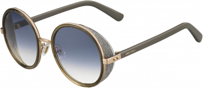 JIMMY CHOO ANDIE/S style-color Gold Copper 0S9R / Gray Gradient U3 Lens