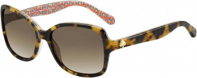 KATE SPADE AYLEEN/P/S style-color Havana Pattern Gree 02NL / Brown Gradient Polz LA Lens