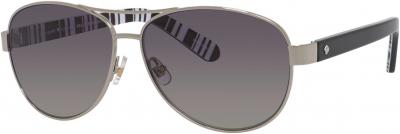 KATE SPADE DALIA 2/P/S style-color Silver Black 079D / Gray Sf Pz WJ Lens