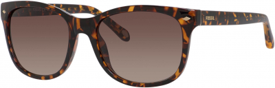 FOSSIL FOS 3006/S style-color Dark Havana 0V08 / Warm Brown Gradient B1 Lens