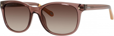 FOSSIL FOS 3006/S style-color Transparent Brown 0XL7 / Brown Gradient Y6 Lens