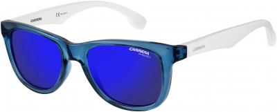 CARRERA CARRERINO 20 style-color White Blue Semi Matte Black 0WWK / Blue Sky Miror XT Lens