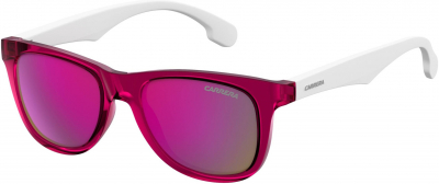 CARRERA CARRERINO 20 style-color White Pink Gold 0JQO / Multipink Cp VQ Lens