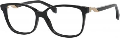 FENDI FF 0232 style-color Black 0807