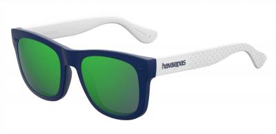 HAVAIANAS PARATY/S style-color Blue White 0QMB / Green Multi Pz Z9 Lens