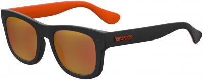 HAVAIANAS PARATY/L style-color Black Orange 08LZ / Orange Flash Ml UW Lens