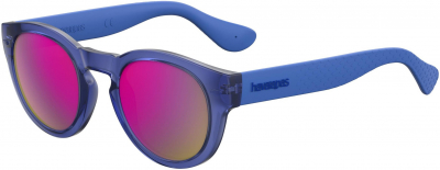 HAVAIANAS TRANCOSO/M style-color Transparent Blue Transparent Blu 0GEG / Multipink Cp VQ Lens