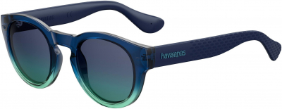 HAVAIANAS TRANCOSO/M style-color Dark Green Blue 03UK / Blue Aqua JF Lens