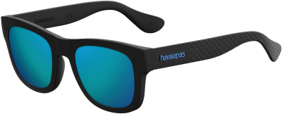 HAVAIANAS PARATY/M style-color Black 0O9N / Red Mirror UZ Lens