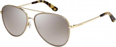 JUICY COUTURE JU 599/S style-color Gold Beige 084E / Brown Mirror Gradient NQ Lens