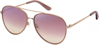 JUICY COUTURE JU 599/S style-color Red Gold 0AU2 / Pink Flash Silver 2S Lens