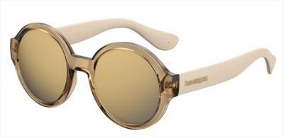 HAVAIANAS FLORIPA/M style-color Gold 0J5G / Gray Bronze Mirror JO Lens