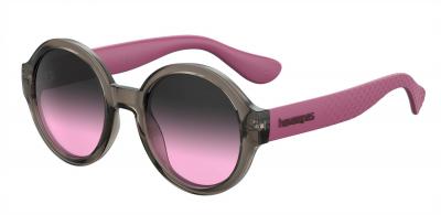 HAVAIANAS FLORIPA/M style-color Gray Pink 07HH / Gray Fuschia FF Lens