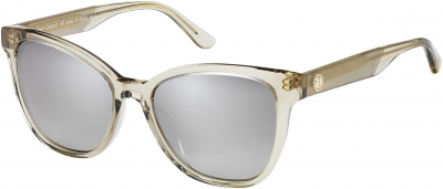 JUICY COUTURE JU 603/S style-color Brown Crystal 0YL3 / Brown Mirror Gradient NQ Lens