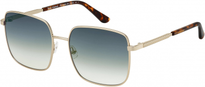 JUICY COUTURE JU 605/S style-color Lgh Gold 03YG / Gray Green 9K Lens