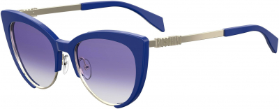 MOSCHINO MOS 040/S style-color Blue 0PJP / Smoke Gradient DG Lens