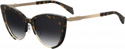 MOSCHINO MOS 040/S style-color Dark Havana 0086 / Dark Gray Gradient 9O Lens