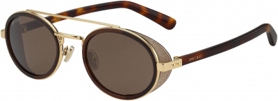 JIMMY CHOO TONIE/S style-color Brown Gold 0FG4 / Brown 70 Lens