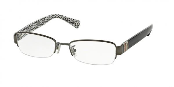 COACH HC5027B CECILY style-color 9081 Dark Silver / Black