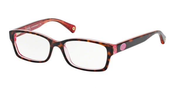 COACH HC6040 BROOKLYN style-color 5115 Tortoise / Pink