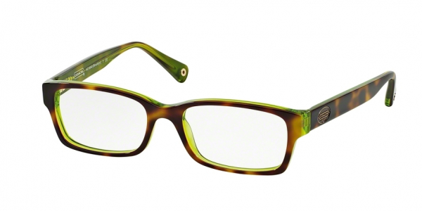 COACH HC6040 BROOKLYN style-color 5117 Tortoise / Green