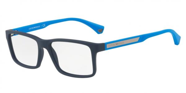 EMPORIO ARMANI EA3038 style-color 5650 Blue Rubber