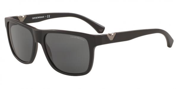 EMPORIO ARMANI EA4035 style-color 504287 Matte Black / dark grey Lens