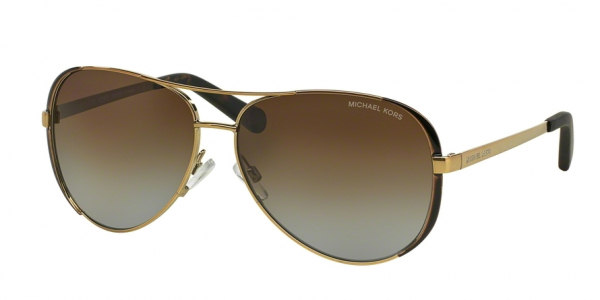 MICHAEL KORS MK5004 CHELSEA style-color 1014T5 Gold / Dk Chocolate Brown