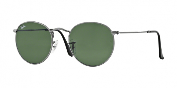 RAY-BAN RB3447 ROUND METAL style-color 029 Matte Gunmetal