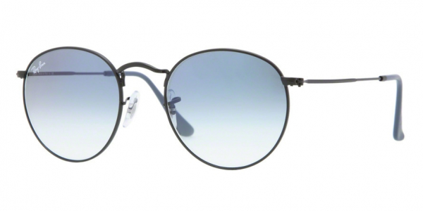 RAY-BAN RB3447 ROUND METAL style-color 006/3F Matte Black