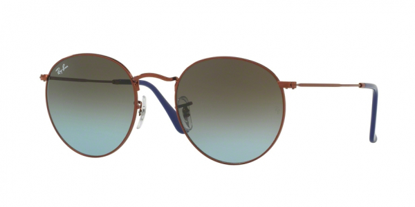 RAY-BAN RB3447 ROUND METAL style-color 900396 Shiny Dark Bronze
