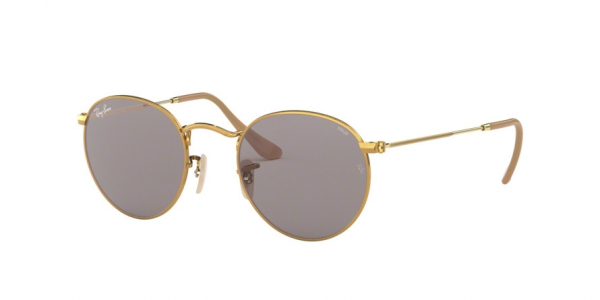 RAY-BAN RB3447 ROUND METAL style-color 9064V8 Gold