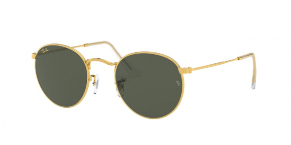 RAY-BAN RB3447 ROUND METAL style-color 919631 Legend Gold