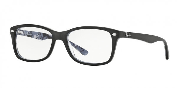 RAY-BAN RX5228 style-color 5405 Top Mat Black ON Tex Camuflage
