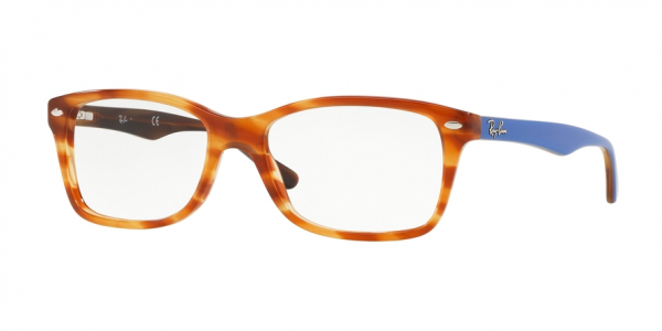 RAY-BAN RX5228 style-color 5799 Light Brown Havana