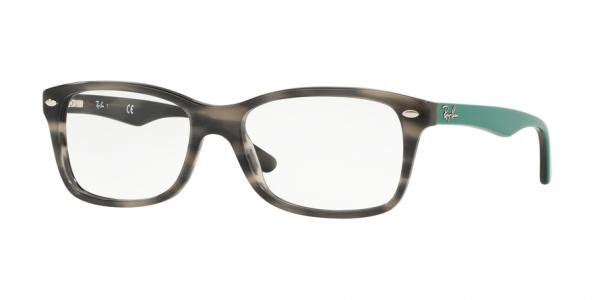RAY-BAN RX5228 style-color 5800 Grey Green Havana