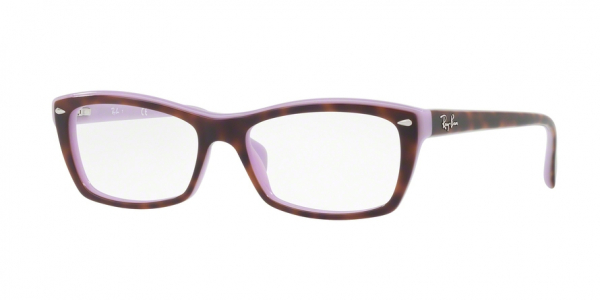 RAY-BAN RX5255 (51) style-color 5240 Top Havana ON Violet