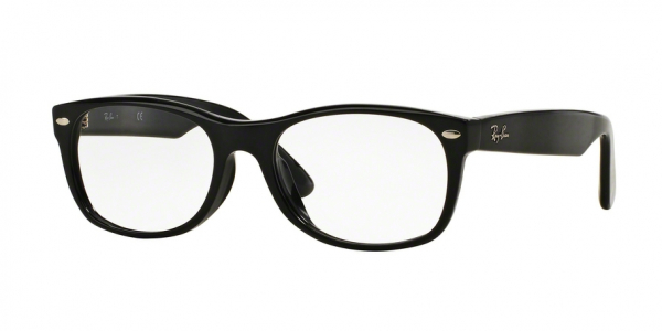 RAY-BAN RX5184F ASIAN FIT style-color 2000 Shiny Black
