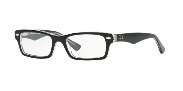 RAY-BAN RY1530 style-color 3529 Top Black ON Transparent