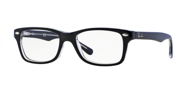 RAY-BAN RY1531 style-color 3529 Top Black ON Transparent