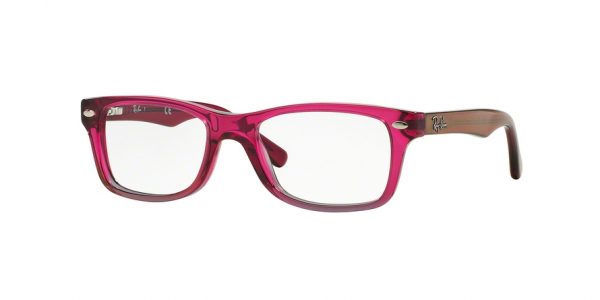 RAY-BAN RY1531 style-color 3648 Fuxia Gradient Iridescent Grey
