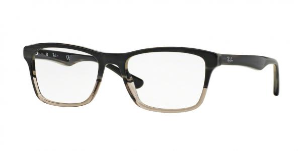 RAY-BAN RX5279 style-color 5540 Grey Horn Grad Trasp Grey