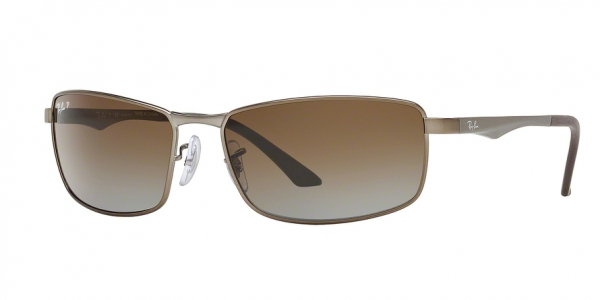 RAY-BAN RB3498 N/A style-color 029/T5 Matte Gunmetal