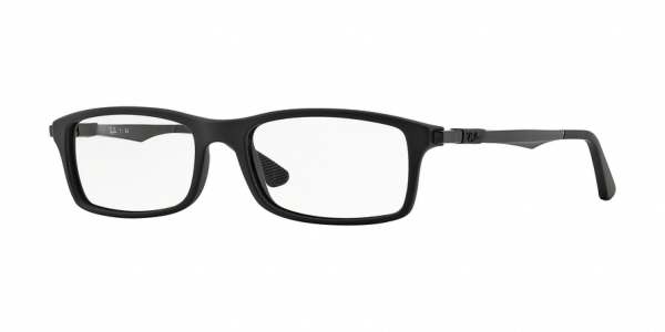 RAY-BAN RX7017 style-color 5196 Matte Black