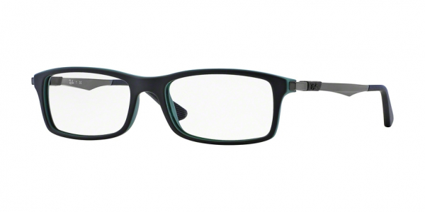 RAY-BAN RX7017 style-color 5197 Top Black ON Green
