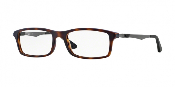 RAY-BAN RX7017 style-color 5200 Matte Havana